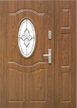 drzwi KMT wejściowe z dostawką