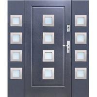drzwi KMT wejściowe z dwoma dostawkami