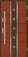 drzwi zewnętrzne dwukolorowe