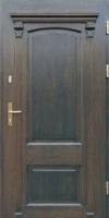 drzwi zewnętrzne retro